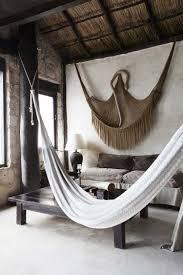 Hängematte Befestigen   Wohnzimmer Im Afrika Stil