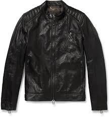 belstaff belstaff kirkham tumbled leather biker jacket