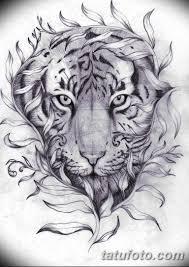 эскиз тату тигра на руке 08032019 Tatufotocom 2 Tatufotocom