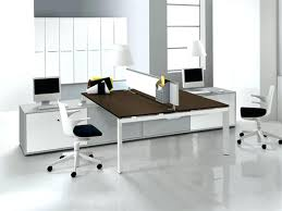 double desk home office. office design executive built in home desk double h