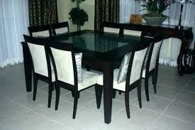 second hand oak dining table and chairs round dining table 8 chairs table and 8 chairs