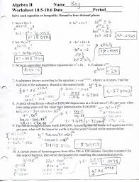 exponential and logarithmic functions algebra 2 practice math worksheets infinite algebraoring by grouping worksheet answers for algebra 1024