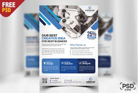 Corporate Business Free Flyer Psd Psd Zone