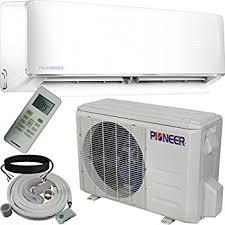goodman mini split. pioneer wys012-17 air conditioner inverter+ ductless wall mount mini split system \u0026 goodman