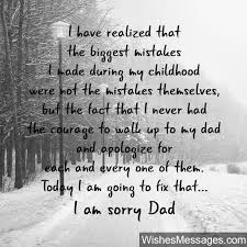 Apologize Quotes Simple I Am Sorry Messages For Dad Apology Quotes WishesMessages
