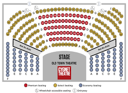 Old Globe Seating Chart Shows Packages Cygnet Theatre