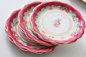 Pink Flower Paper Plates 58 Vintage Paper Plates Vintage Design Paper Plates