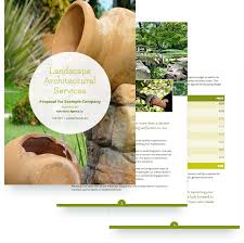 Landscaping Proposal Template - Free Sample