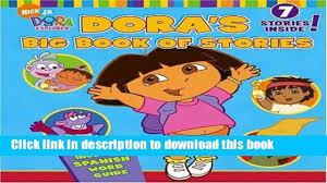 dora s big book of stories dora the explorer e book video dailymotion