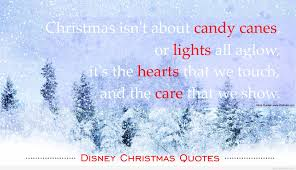 heart of christmas lights quote by disney
