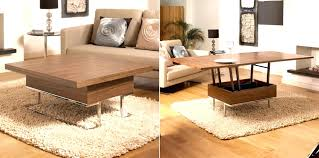 coffee tables that convert to dining room image of table converts into