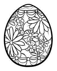 Egg Coloring Sheet