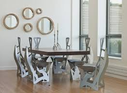Unusual Dining Furniture Regarding Unique Dining Room Tables Igf USA