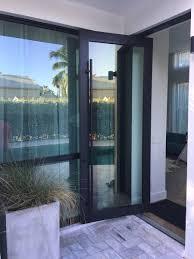 Impact Pivot Doors Florida Hurricane Pivot Doors SIW Impact - Exterior pivot door