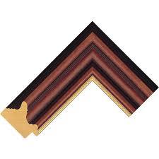 56mm dark wood gold stain