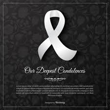 Condolence Template Enchanting Our Deepest Condolences Vector Card Template Download Free Vector
