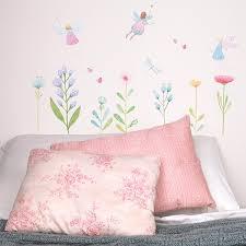 fairy garden fabric wall decals