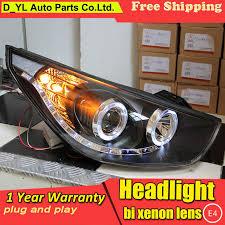 Free shopping <b>car Styling Head lamp</b> for Hyundai IX35 2010-2012 ...