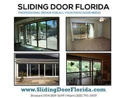 broken sliding glass door repair replacement