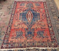 antique country house shabby chic west persian hamadan rug superb country house look design