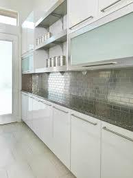 kitchen backsplash stainless steel tiles: stainless steel tile backsplash hernandez aileen embedemailquestion saveemail