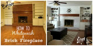 How To Remove Soot From Brick Fireplace  Home Decorating How To Clean Brick Fireplace