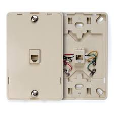 telephone wall socket wiring diagram wiring diagram and replace a phone jack the family handyman