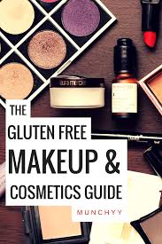 gluten free makeup cosmetics and beauty s