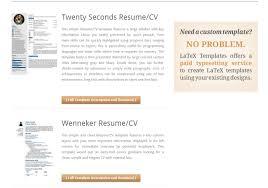如何学习用LaTeX做简历? 知乎 Best Resume 中文