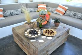 mushroom coffee table reclaimed wood coffee table living room farmhouse with art habitat mushroom coffee table
