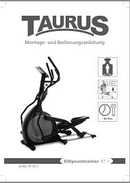 Crosstrainer Gebraucht Taurus X 71 Fitness Ellipsentrainer