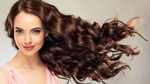 壁紙2560x1440茶色の髪の女性髪凝視顔髪型少女