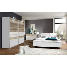 Schlafzimmerset Masha 4 Teilig Alpinweißwildeiche Dekor Wimex