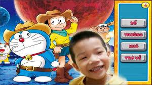 Trò Chơi Xếp Hình Doraemon - YouTube