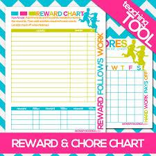 Free Printable Weekly Reward Chart Kids Free Printable