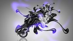 moto suzuki hayabusa fantasy plastic tiger bike
