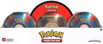Pokémon Trading Card Game: <b>Poké Ball</b> Tin Red/Black/White/Silver ...