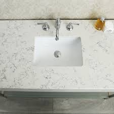 Quartz Bathroom Countertop Ace 48 Inch Single Sink Bathroom Vanity Set With Quartz Countertop