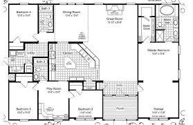 5 bedroom modular homes floor plans fresh triple wide mobile home floor plans of 5 bedroom