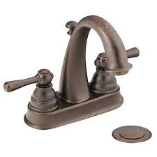 moen 6121orb oil rubbed bronze kingsley 2 handle bathroom faucet with drain assembly 6121