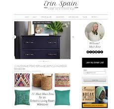 a home improvement blog with diy and lifestyle content is what blogger erin delivers to reader you can find a good deal of room makeovers here and you can