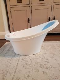 shnuggle baby bath tub cosy bathtub with p support and foam back rest