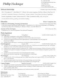 How To Format A Resume Unique How To Format Resume In Word A Best Template Folous