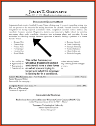 Sample Resume Objective Statement Resumes Objective Statement musiccityspiritsandcocktail 11