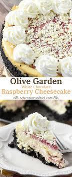 olive garden white chocolate raspberry cheesecake.  Cheesecake Olive Garden White Chocolate Raspberry Cheesecake Is Hands Down My Favorite  Restaurant Dessert We Go To
