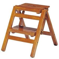 wood folding step stool wooden folding step stool for