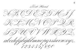 Typography Printable Fancy Script Monograms Cursive