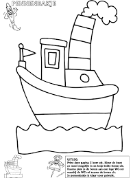 Sinterklaas Stoomboot Pennenbakje Knutselpaginanl Knutselen