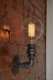 electric wall sconces modern lighting. Loft Vintage Nostalgic Industrial Lustre Water Pipe Edison Wall Sconce Lamp Resturant Hotel Stair Home Modern Electric Sconces Lighting T