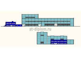 Купить диплом ПГС промышленное здание низкие цены на дипломы  Цех железобетонных конструкций в г Усинск Дипломный проект